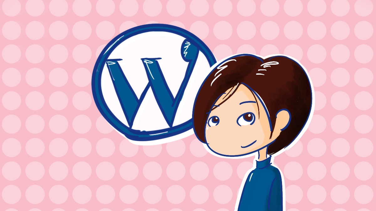 WordPress girl